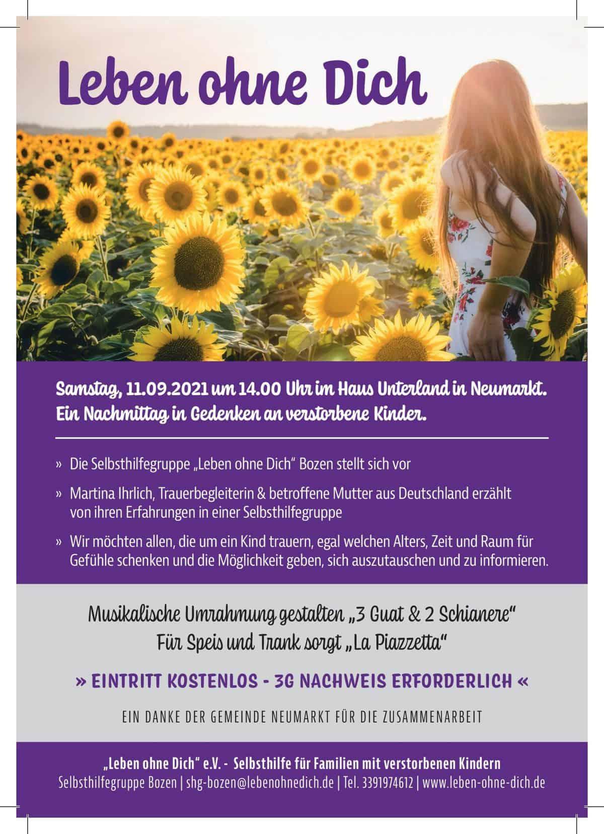 Informationsblatt Bozen